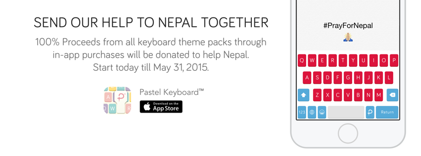Send Our Help to Nepal Together