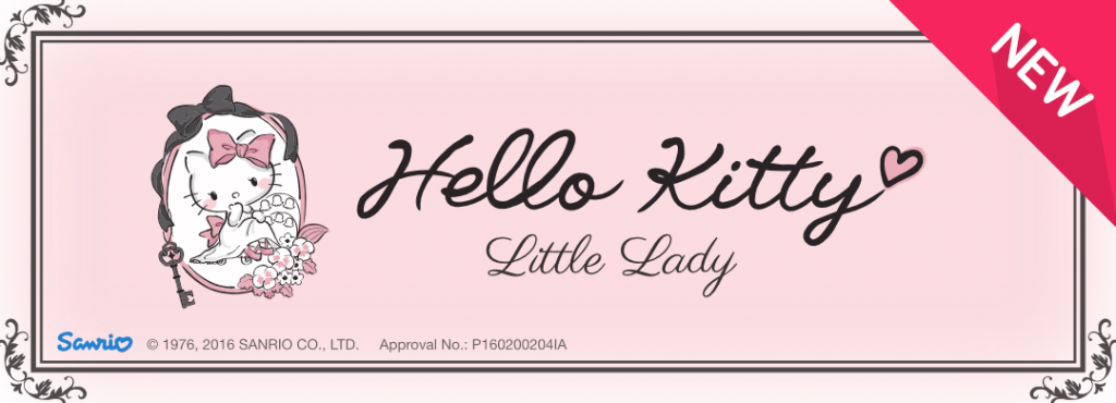New Pack !! Hello Kitty Little Lady